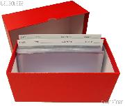 Currency Filing System - Large Size with Filing Cards, Sleeves, Storage Box