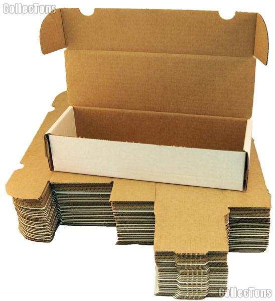 sleeved trading cards cardboard box storage sleeved free
