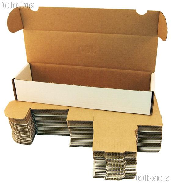10 Sports Cards Storage Boxes by BCW 800 Count Cardboard Storage Boxes