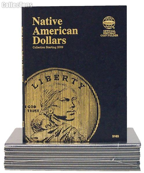 Native American Dollar Coin Folder by Whitman 2009-Date Sacagawea 3163