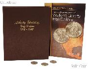 Walking Liberty Half Dollar Coin Collecting Starter Set with Album, Book, and Coins