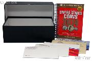 U.S. Mint Sets Coin Collecting Starter Set with Storage Box, Book, and Coins