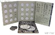 Kenndedy Half Dollars Coin Collecting Starter Set with Folders and Coins