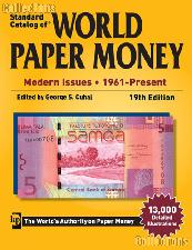 Krause Standard Catalog of World Paper Money Modern Issues 1961-Present, 19th Edition