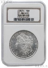 1879 Morgan Silver Dollar in NGC MS 65