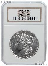 1879-O Morgan Silver Dollar in NGC MS 64