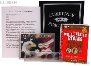 Boy Scouts Coin Collecting Merit Badge Supply Set with Requirements