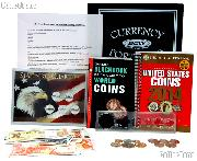 Boy Scouts Coin Collecting Merit Badge Complete Coin & Currency & Supply Set EVERYTHING You Need!