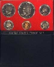 1974 PROOF SET * ORIGINAL * 6 Coin U.S. Mint Proof Set