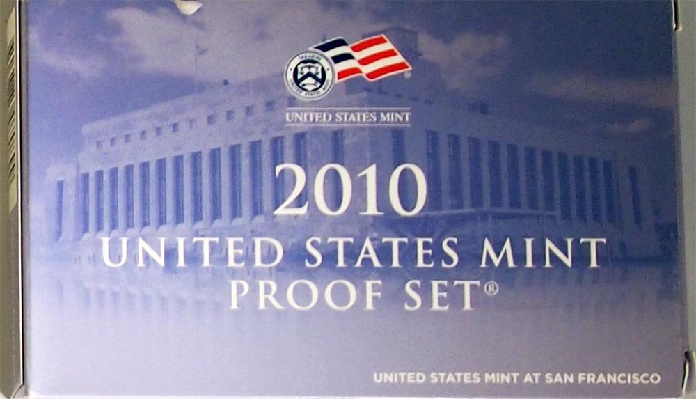 2010 PROOF SET * ORIGINAL * 14 Coin U.S. Mint Proof Set