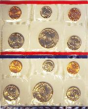 1993 Mint Set - All Original 10 Coin U.S. Mint Uncirculated Set
