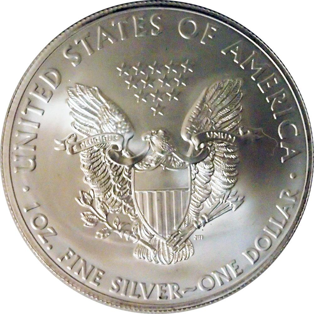 2010 American Silver Eagle Dollar BU 1oz Silver Uncirculated Coin